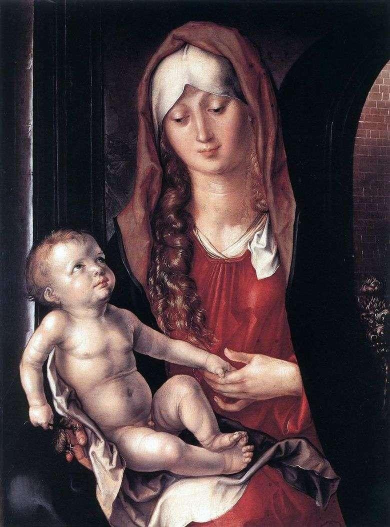 Madonna y el niño   Albrecht Durer