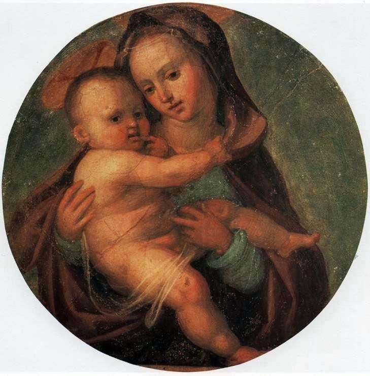 Madonna y el niño   Fra Bartolomeo