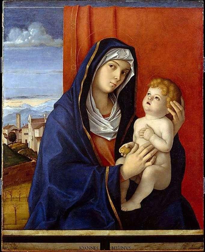 Madonna y el niño   Giovanni Bellini