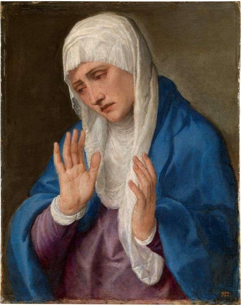 Madre afligida   Titian Vecellio