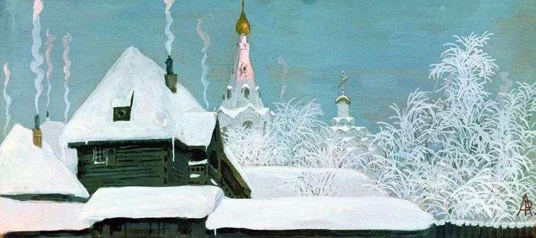 Mañana de invierno   Andrey Ryabushkin