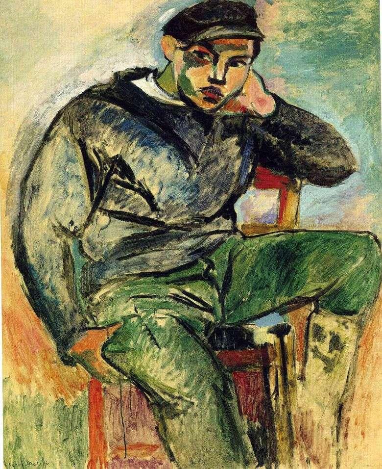 Marinero joven   Henri Matisse