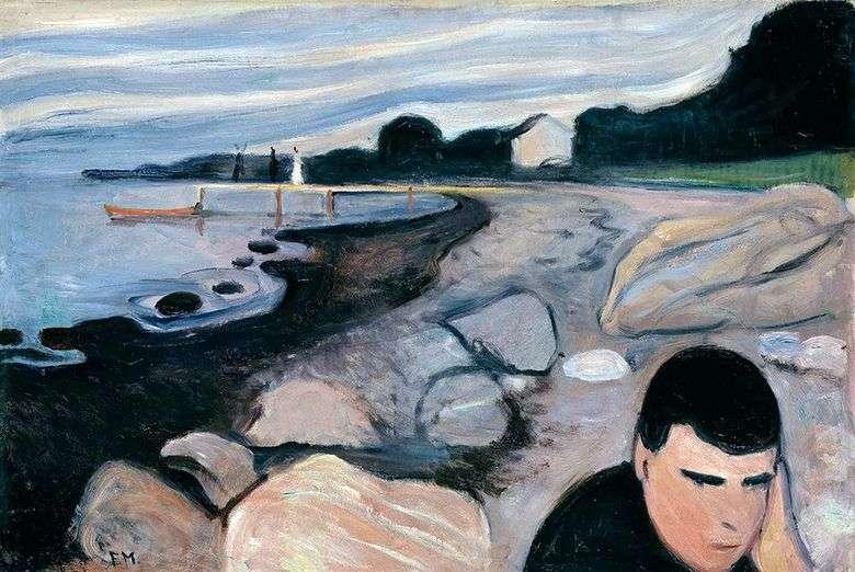 Melancolía   Edvard Munch