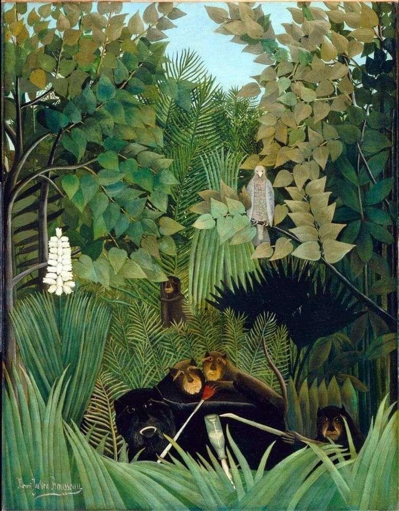 Monos divertidos Jokers   Henri Rousseau