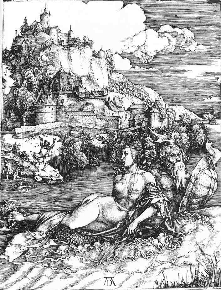 Monstruo marino   Albrecht Durer