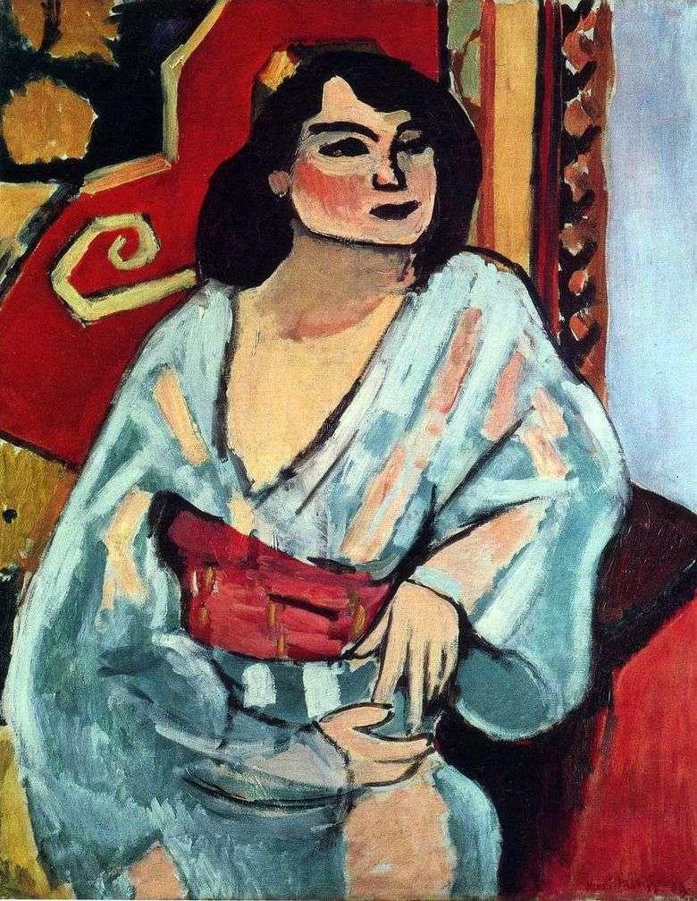 Mujer argelina   Henri Matisse
