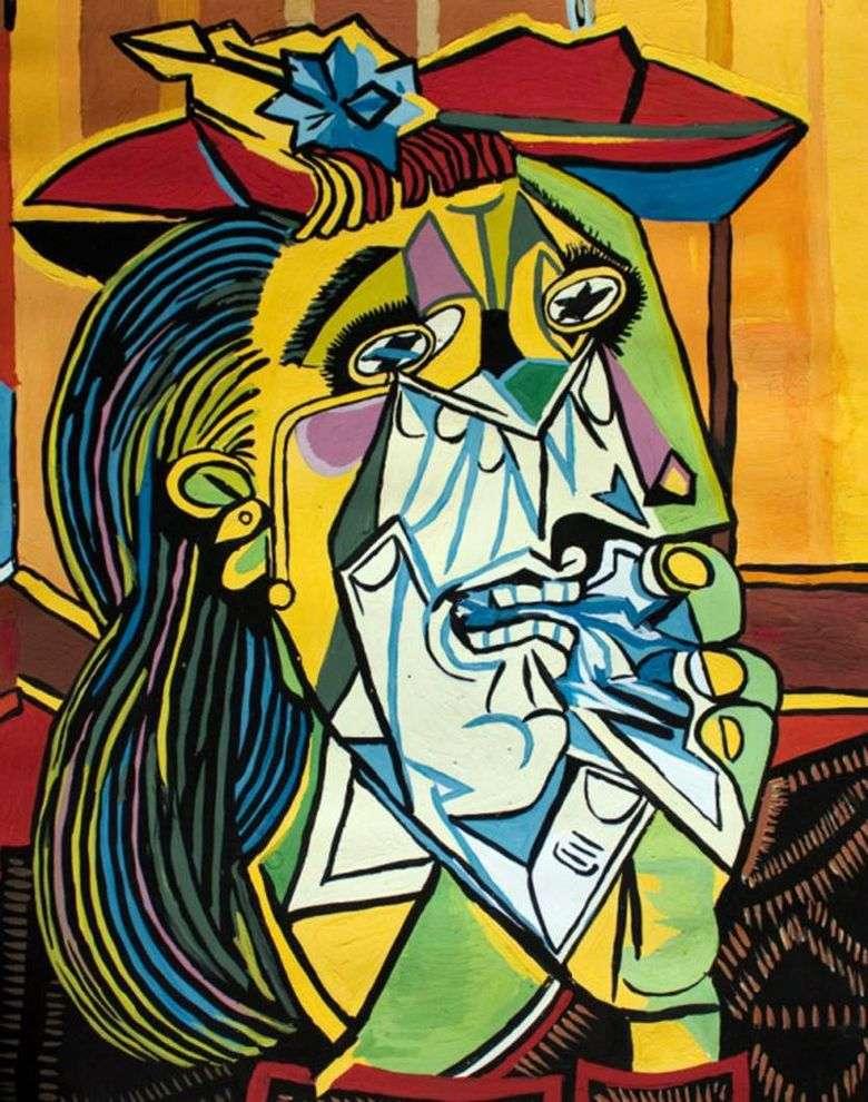 Mujer llorona   pablo picasso