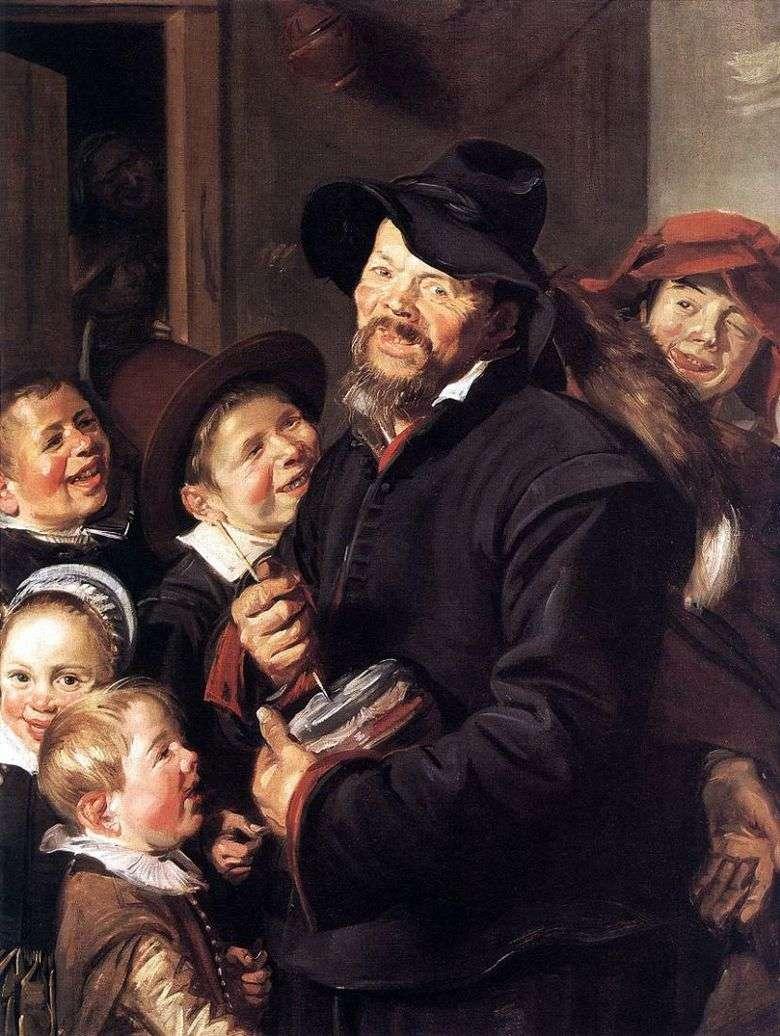 Músico de Potter   Frans Hals