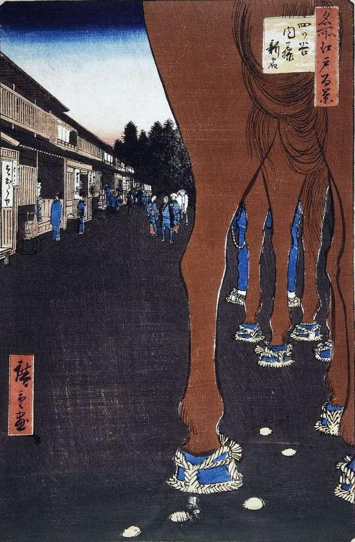 Naito Shinjuku en Etsuya   Utagawa Hiroshige