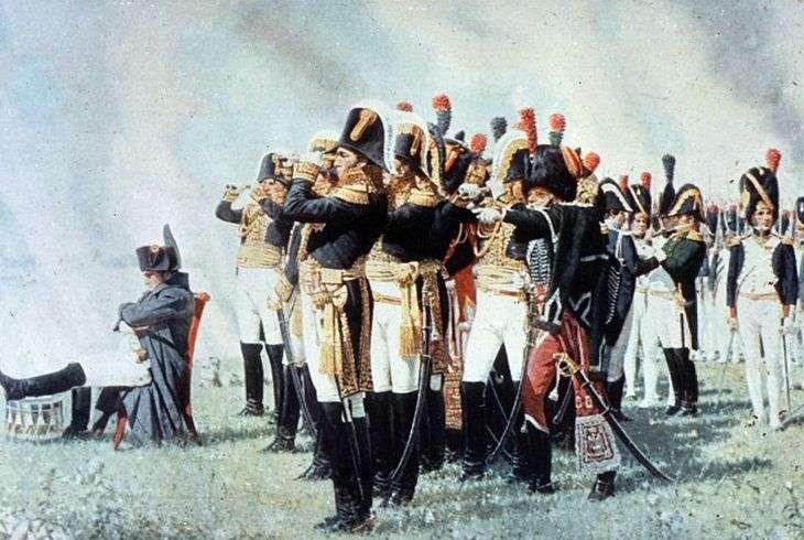 Napoleón en las alturas de Borodino   Vasily Vereshchagin