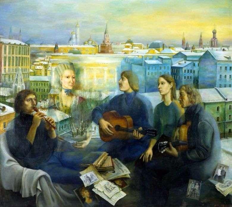 Noche de Moscú   Tatyana Nazarenko