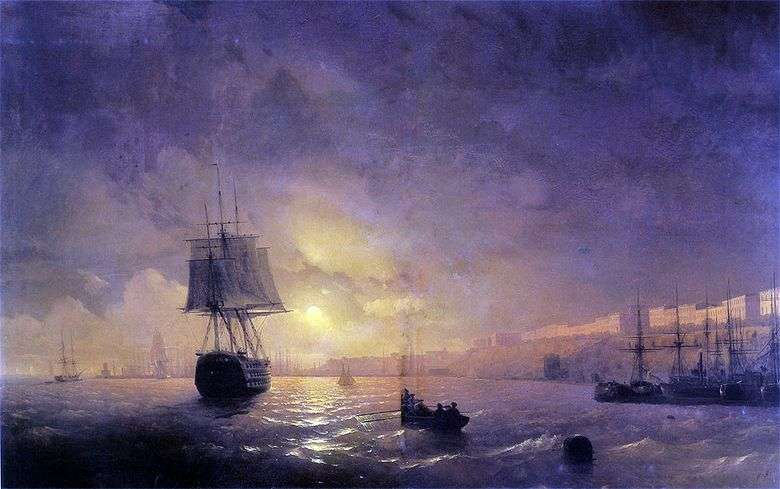 Odessa en la noche   Ivan Aivazovsky