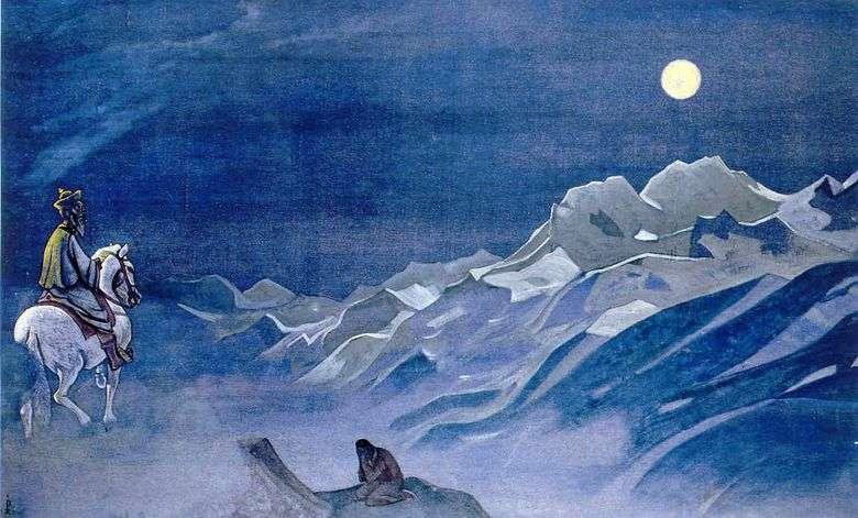 Oirot mensajero del Burkhan Blanco   Nikolay Roerich