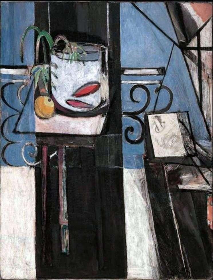 Peces de colores y paleta de colores   Henri Matisse