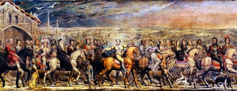 Peregrinos de Canterbury   William Blake