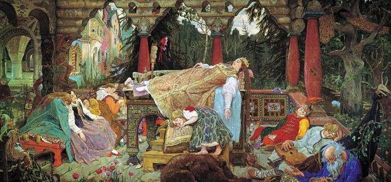 Princesa durmiente   Viktor Vasnetsov