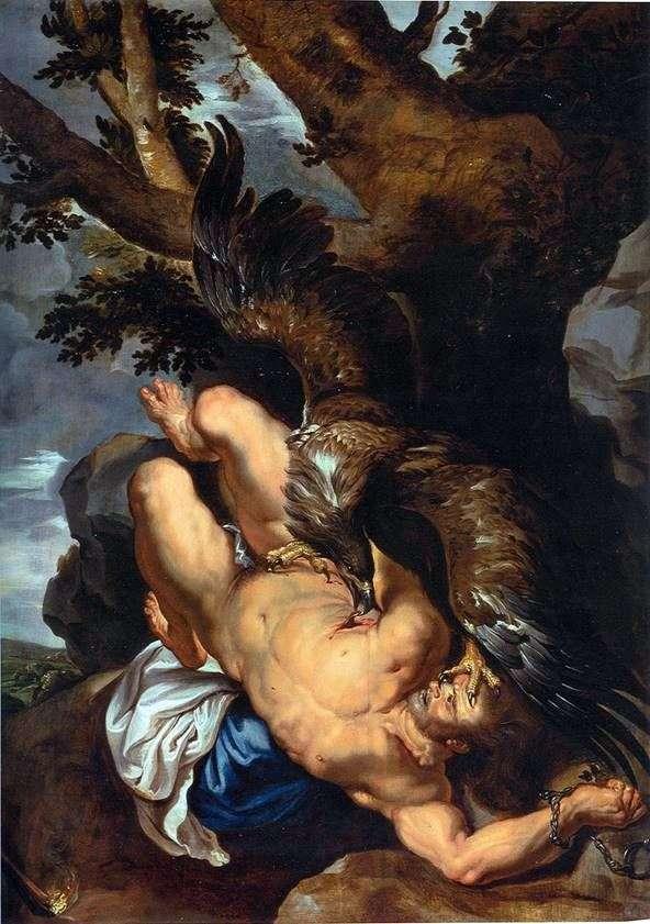Prometeo encadenado   Peter Rubens
