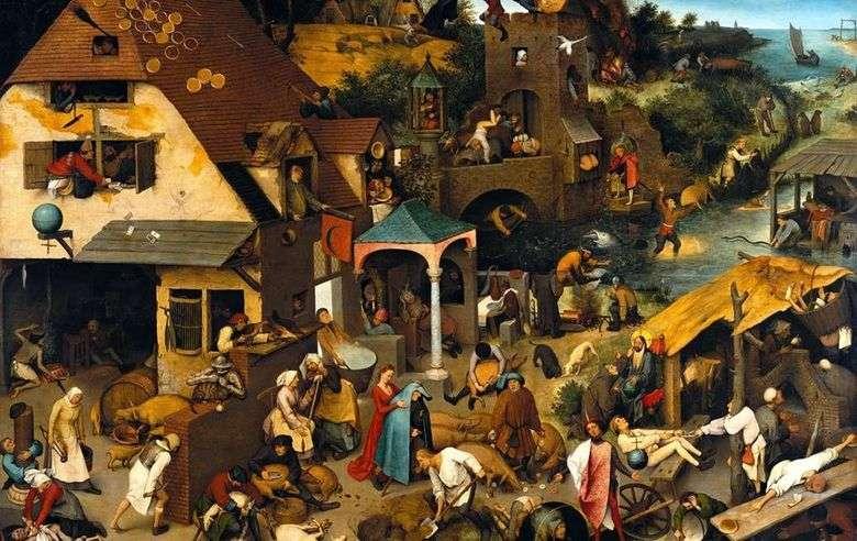 Proverbios Holandeses   Peter Bruegel