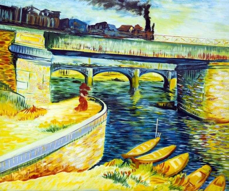 Puentes sobre el Sena   Vincent van Gogh