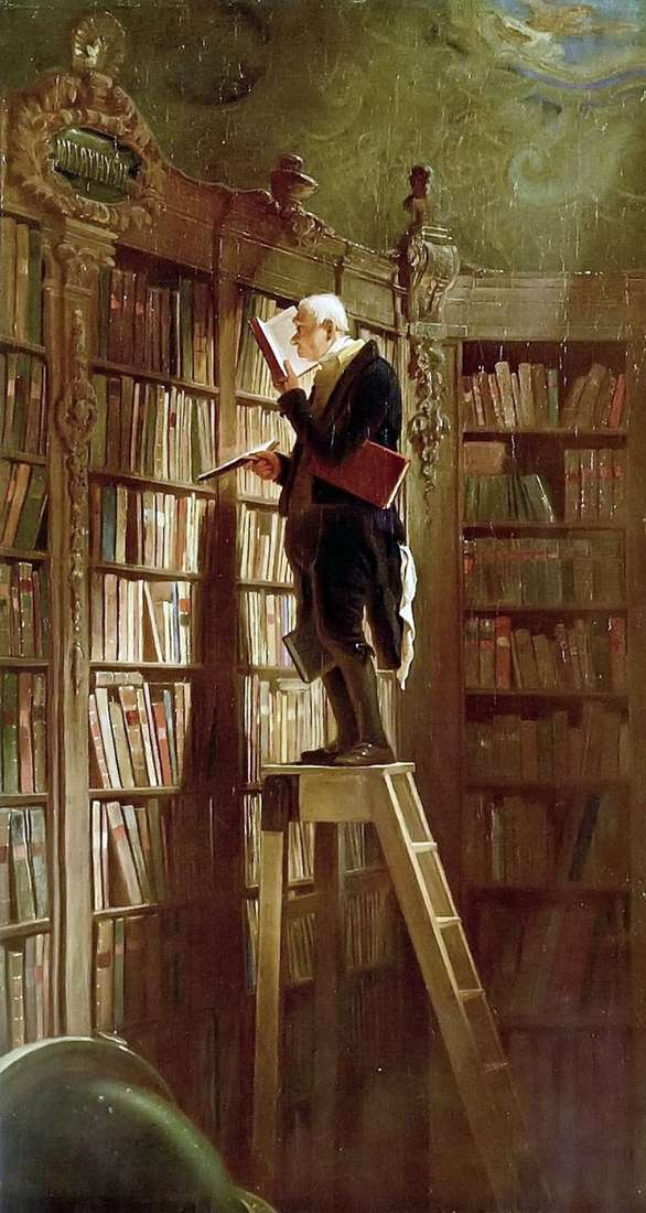 Ratón de biblioteca   Karl Shpitsveg