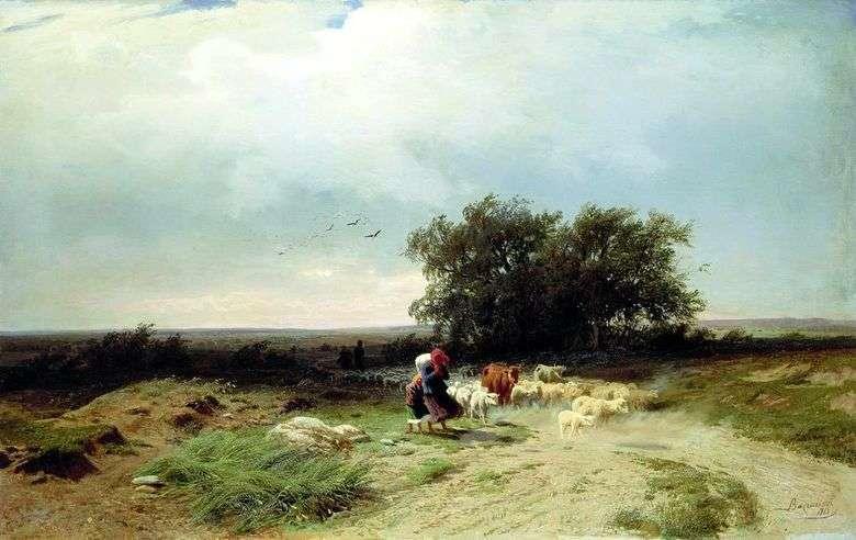 Rebaño de la manada   Fedor Vasilyev