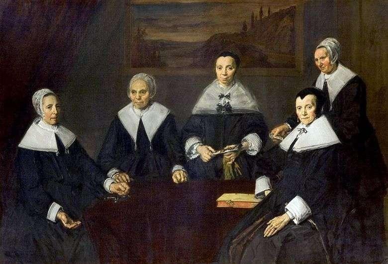 Regentsha Harlem Almshouse (Refugio Regentshi para ancianos)   Frans Hals