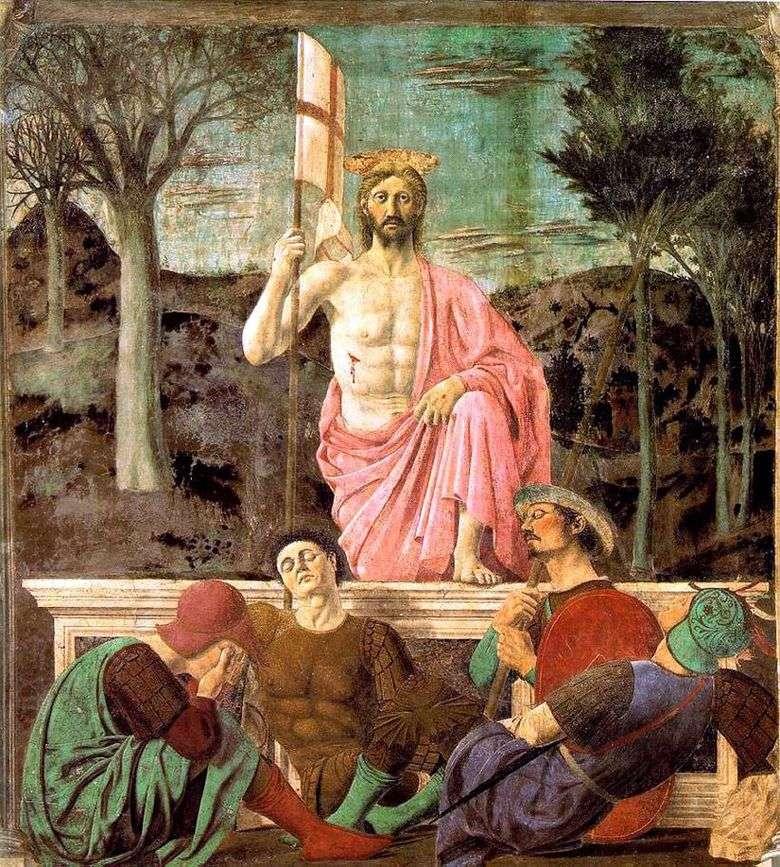 Resurrección   piero della francesca
