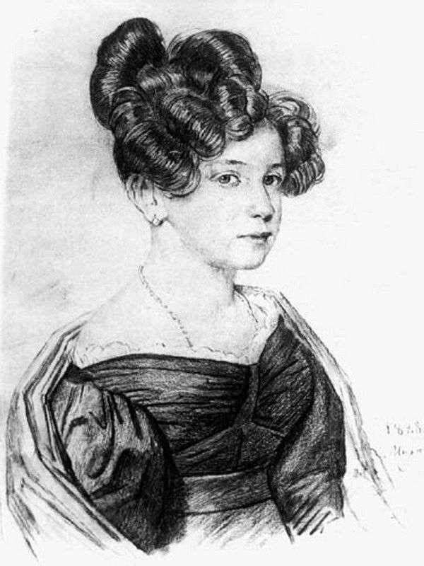 Retrato de A. A. Olenina   Orest Kiprensky