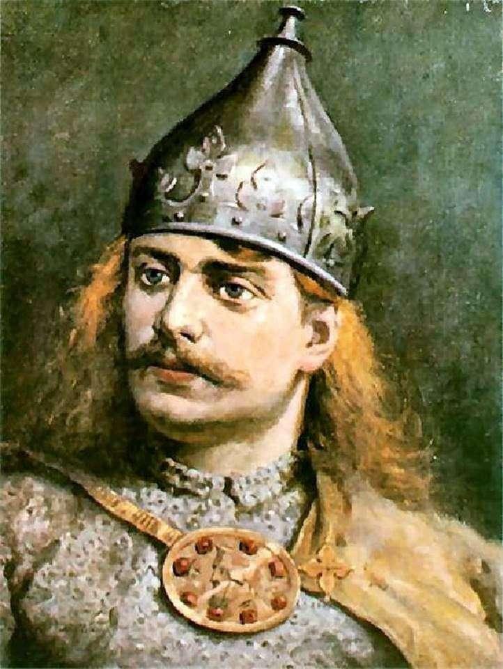 Retrato de Boleslav III Krivoust   Jan Aloisy Mateyko