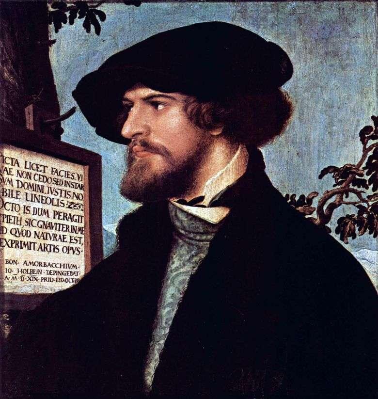 Retrato de Boniface Amerbach   Hans Holbein