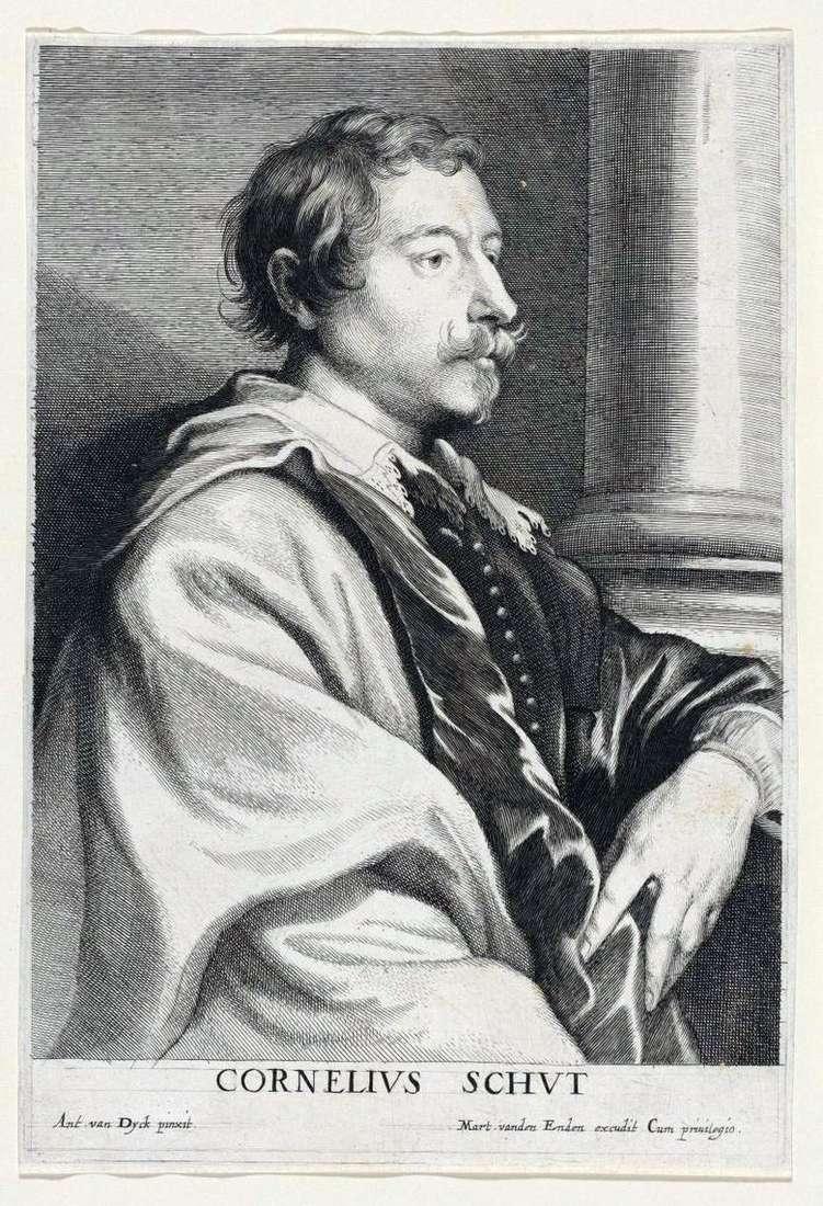 Retrato de Cornelis Shata   Anthony Van Dyck