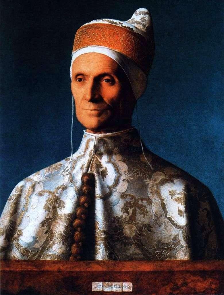 Retrato de Doge Leonardo Loredana   Giovanni Bellini