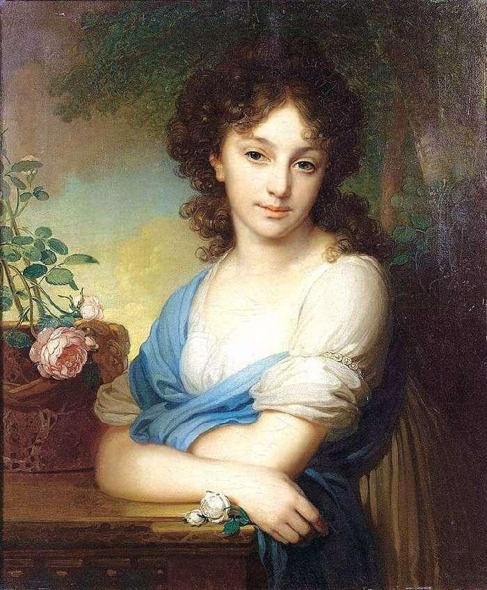 Retrato de E. A. Naryshkina   Vladimir Borovikovsky