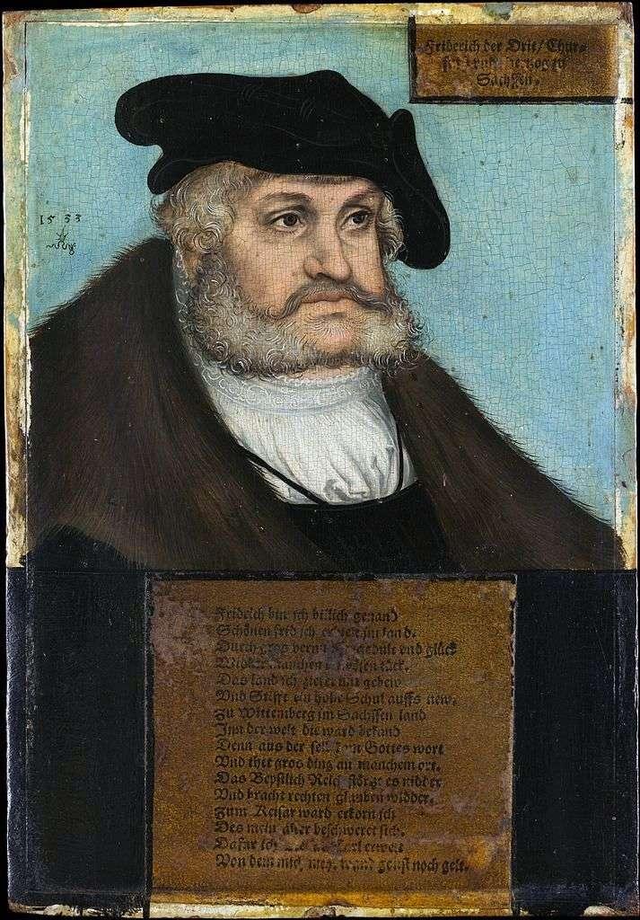 Retrato de Federico el Sabio   Lukas Cranach