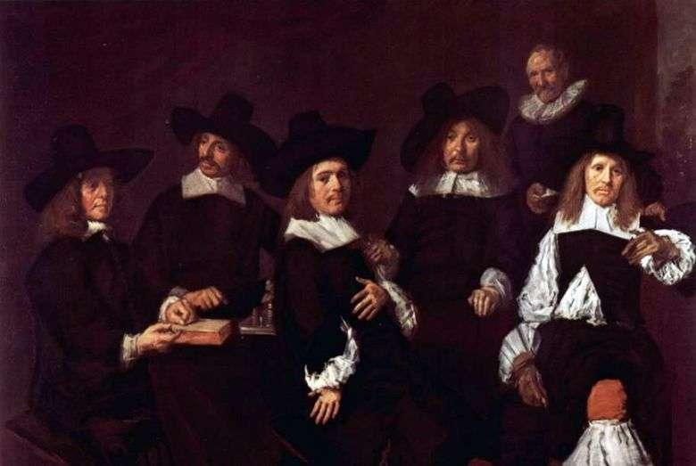 Retrato de grupo   Frans Hals