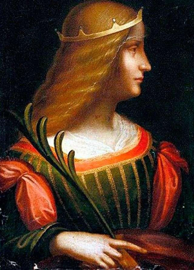 Retrato de Isabella de Este   Leonardo da Vinci