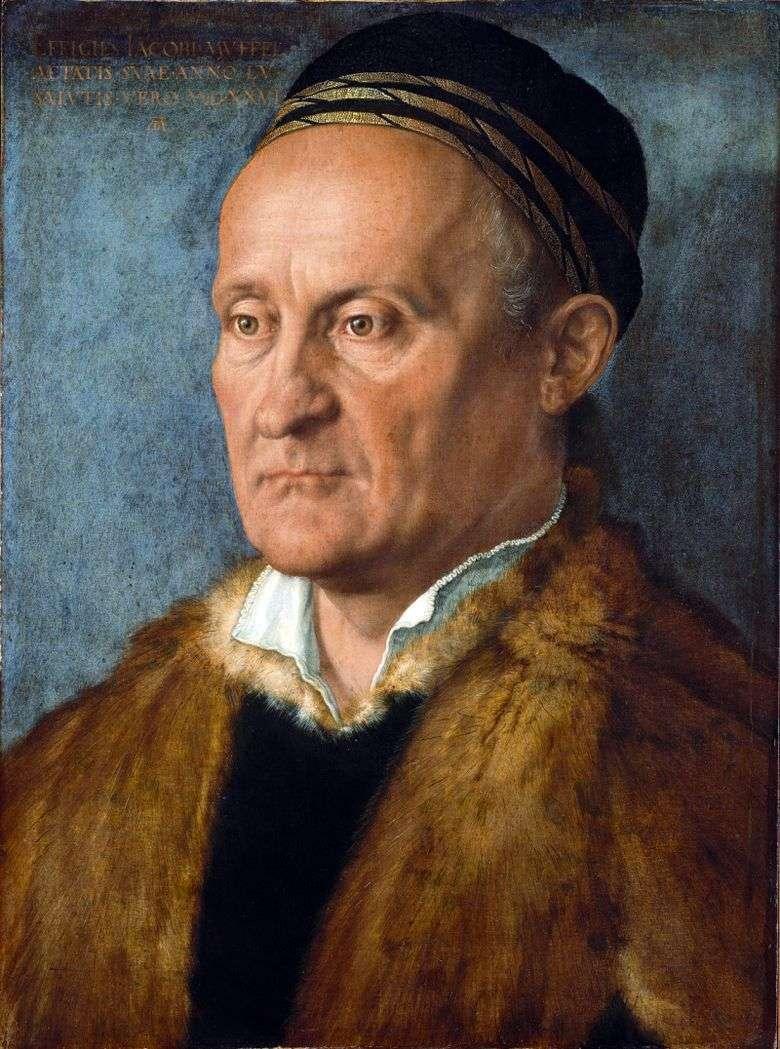 Retrato de Jacob Muffel   Albrecht Durer
