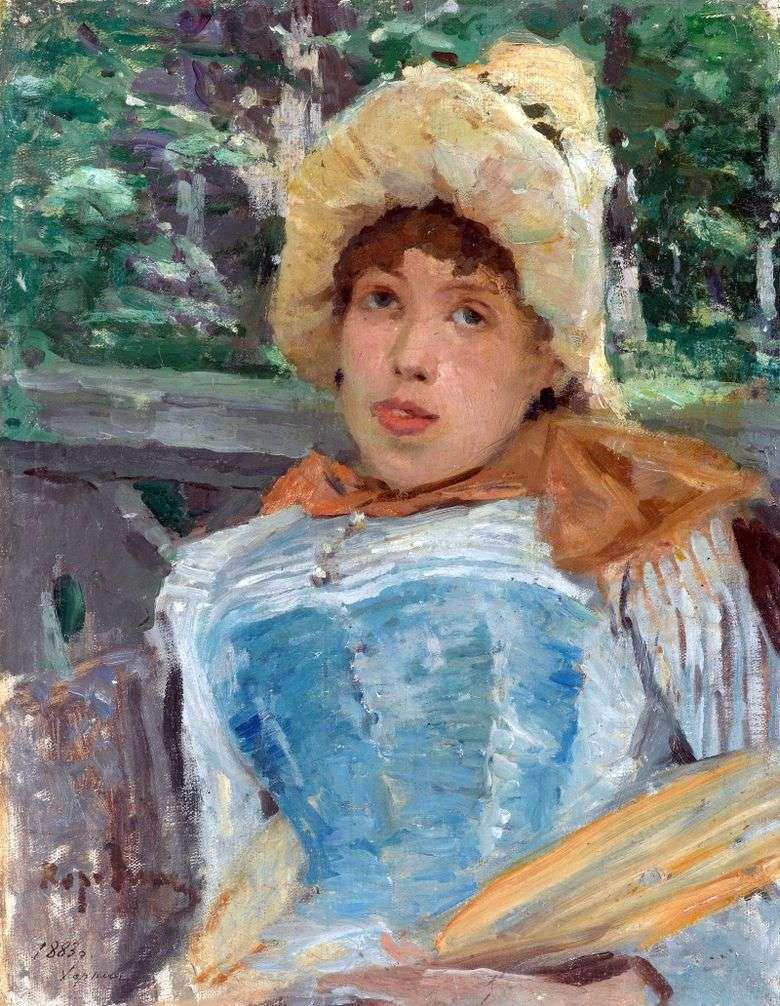 Retrato de la chica del coro   Konstantin Korovin