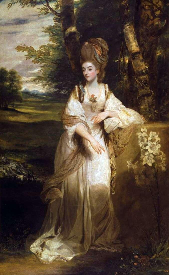 Retrato de Lady Bumpfield   Reynolds Joshua