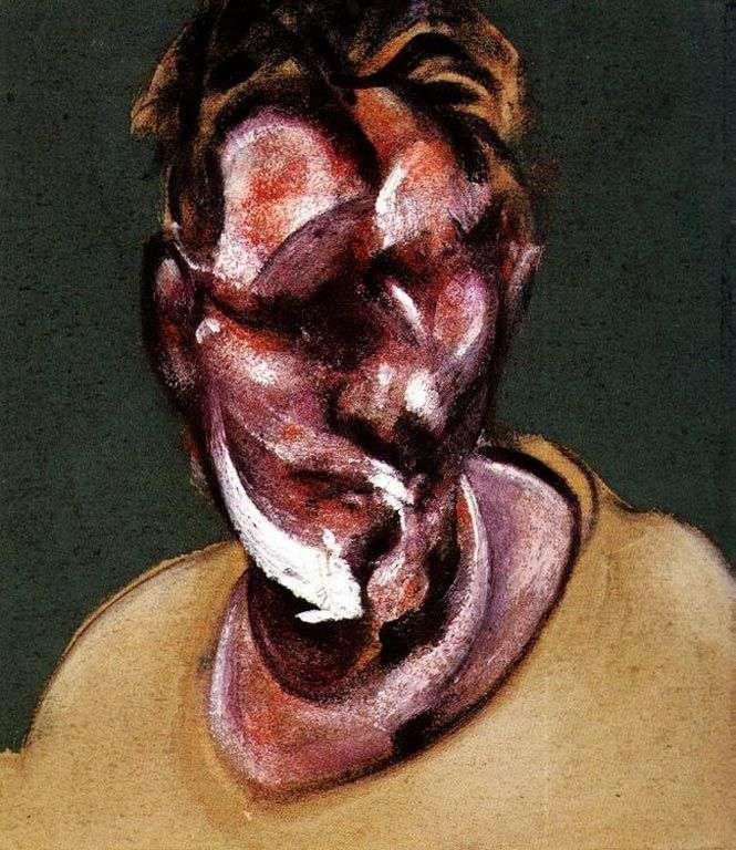 Retrato de Lucien Freud   Francis Bacon