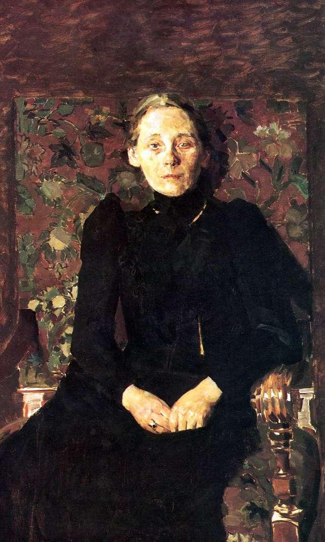 Retrato de M. I. Artsybusheva   Mikhail Vrubel