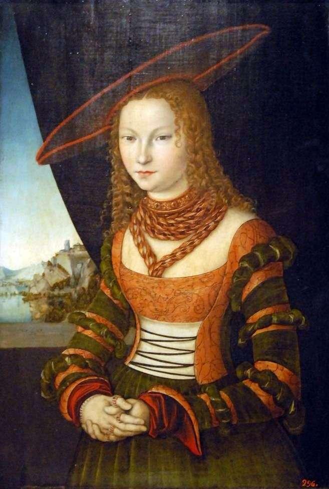 Retrato de mujer   Lucas Cranach