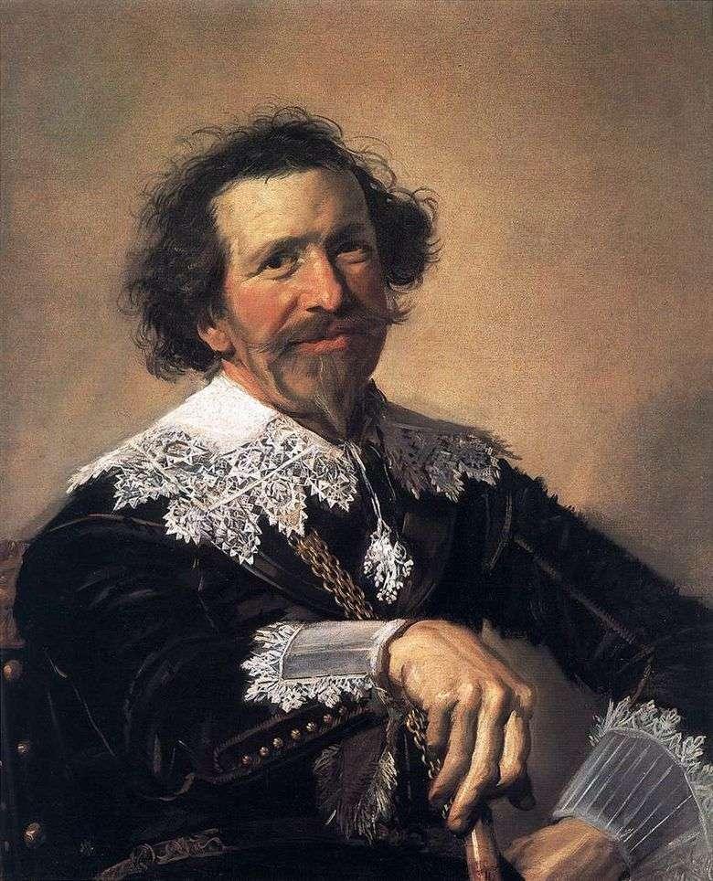 Retrato de Peter van den Brock   Frans Hals