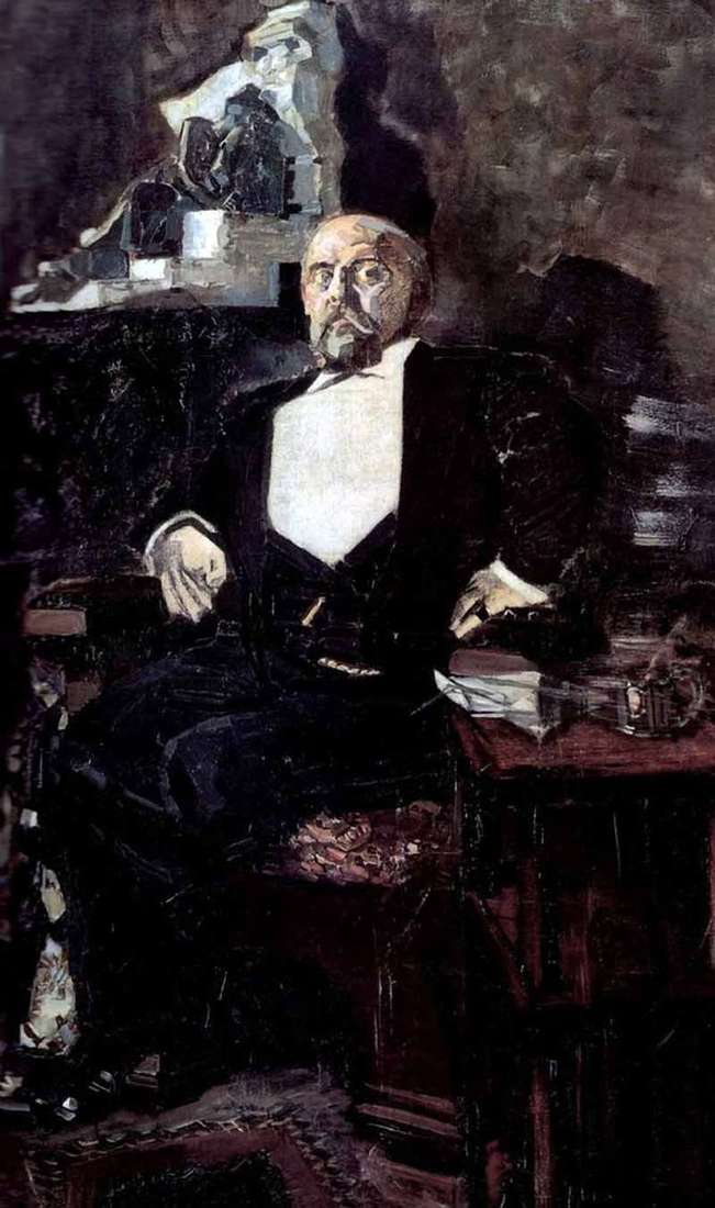 Retrato de Savva Mamontov   Mikhail Vrubel