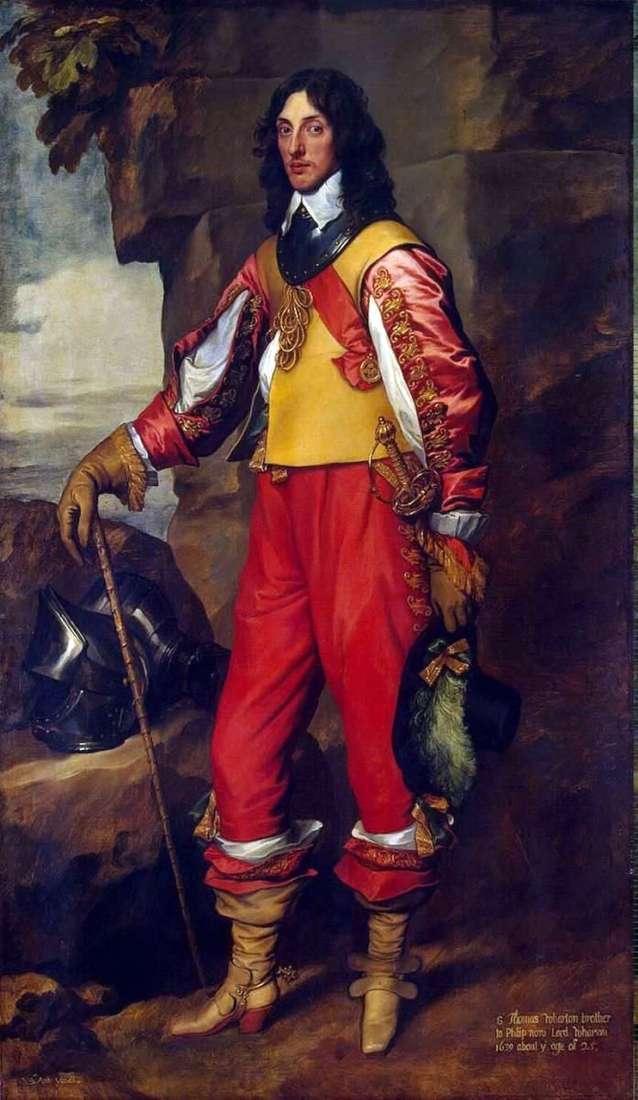 Retrato de Sir Thomas Wharton   Anthony Van Dyck