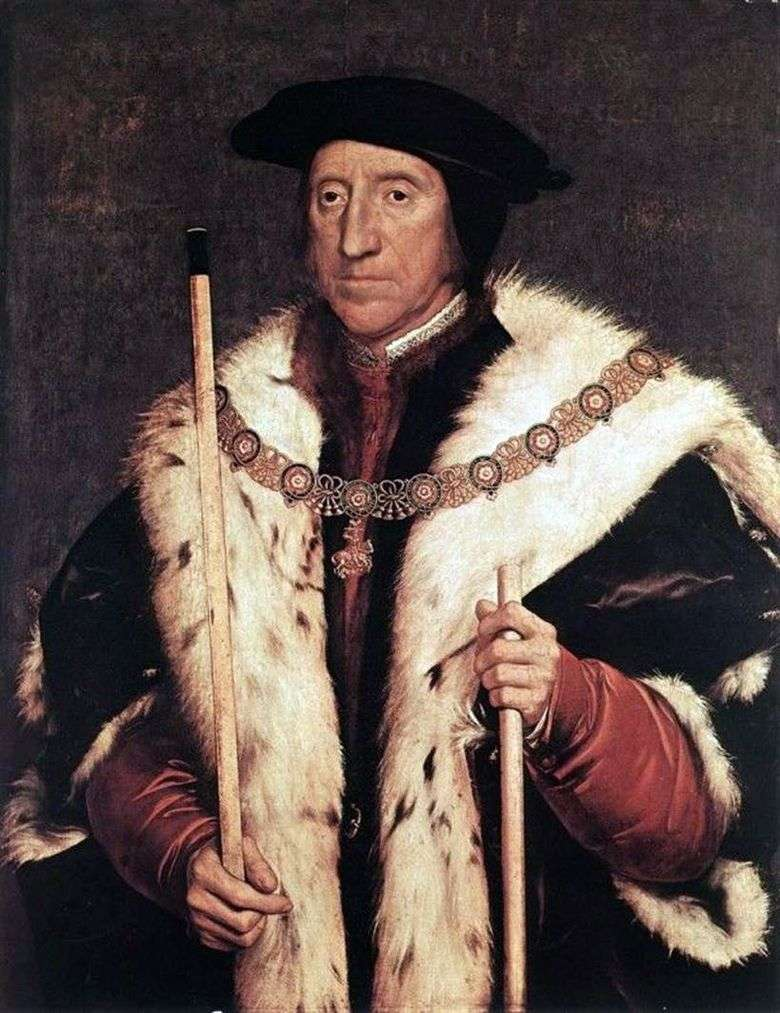 Retrato de Thomas Howard, duque de Norfolk   Hans Holbein