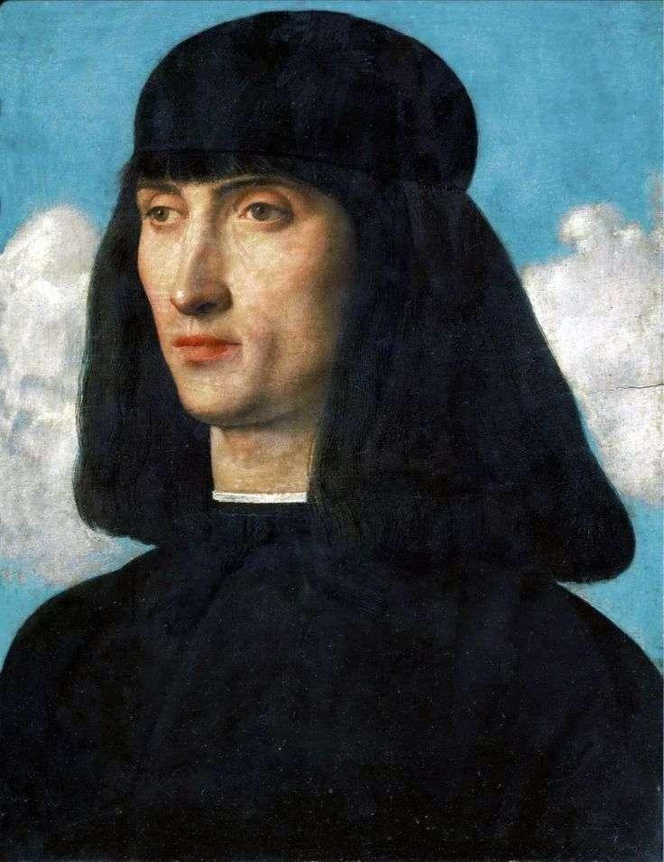 Retrato de un hombre joven   Giovanni Bellini