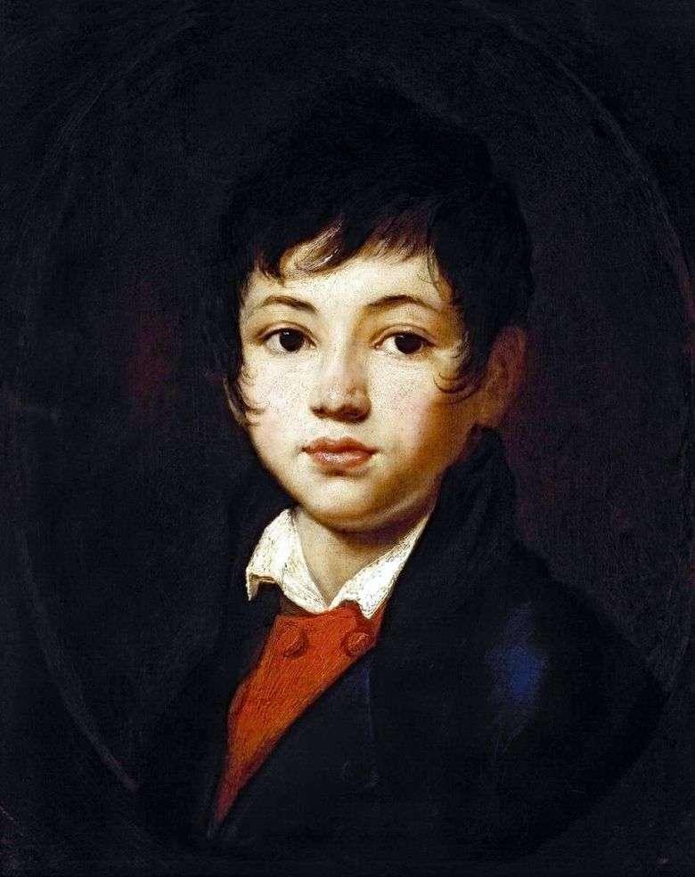 Retrato de un niño de Chelischev   Orest Kiprensky