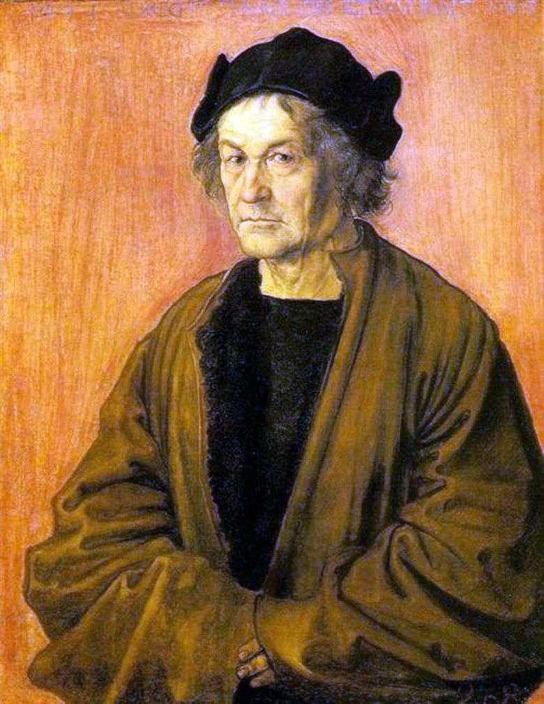 Retrato de un padre a los 70 años   Albrecht Durer