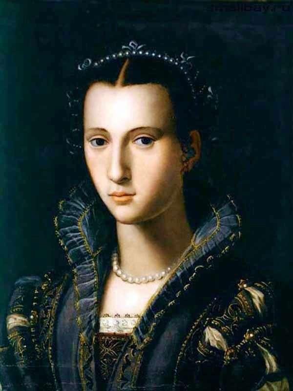 Retrato de una dama florentina   Alessandro Allori